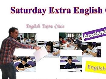 Saturday Extra English Class in January 2018